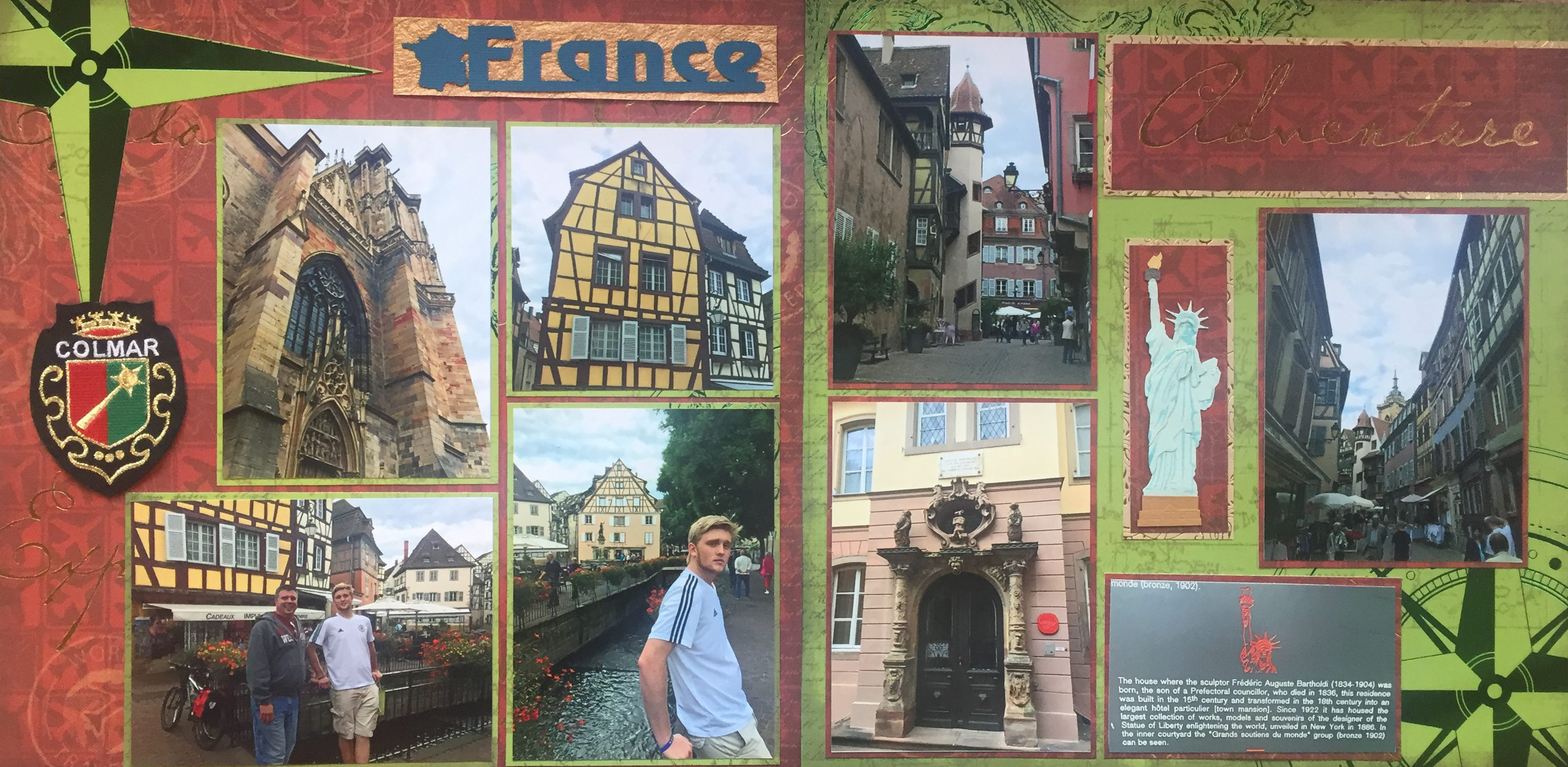 Europe scrapbook ideas - Europe Vacation 2015 Colmar France