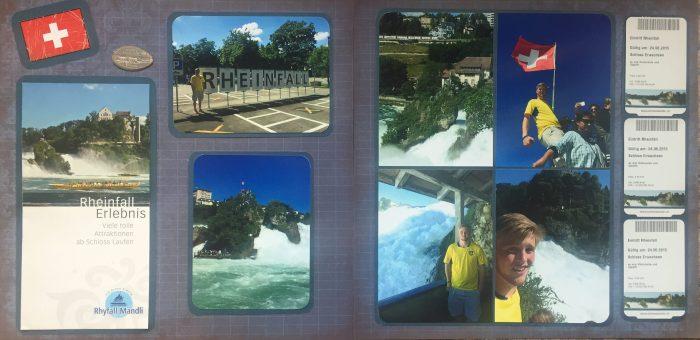Europe Vacation 2015: Rheinfall