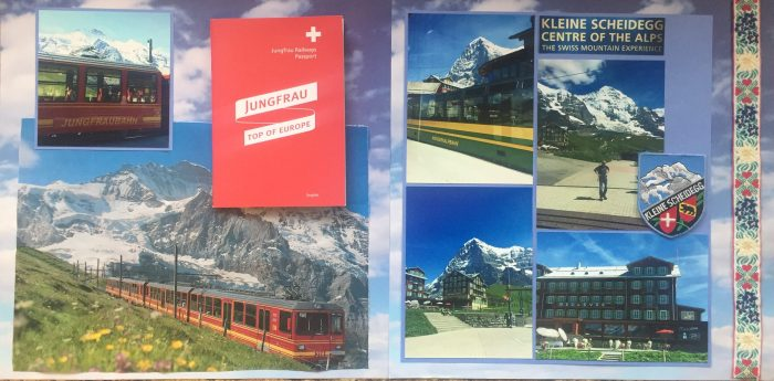 Europe Vacation 2015: Kleine Scheidegg