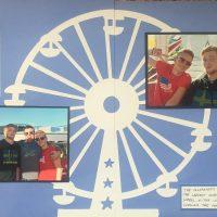Europe Vacation 2015: Hamburg Ferris Wheel