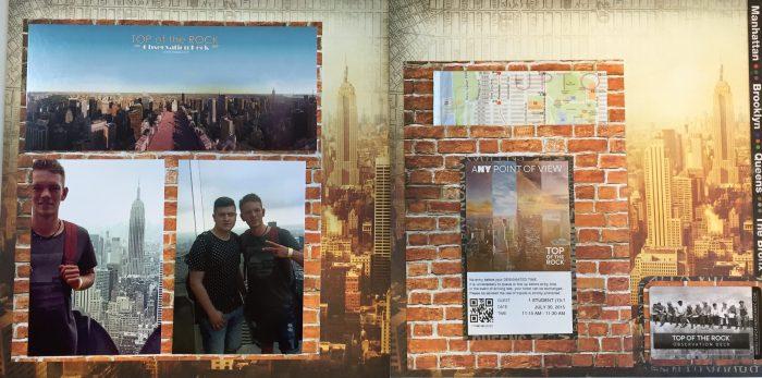 2015: Exchange Student - New York - Top of the Rock