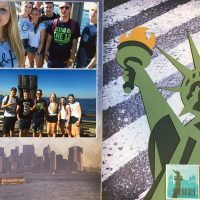 2015: Exchange Student - New York - Ellis Island