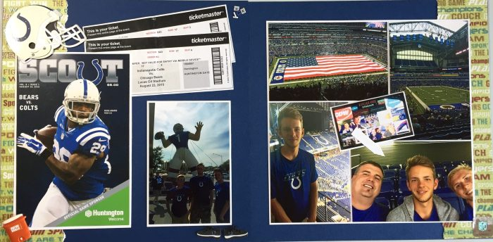2015: Colts Game