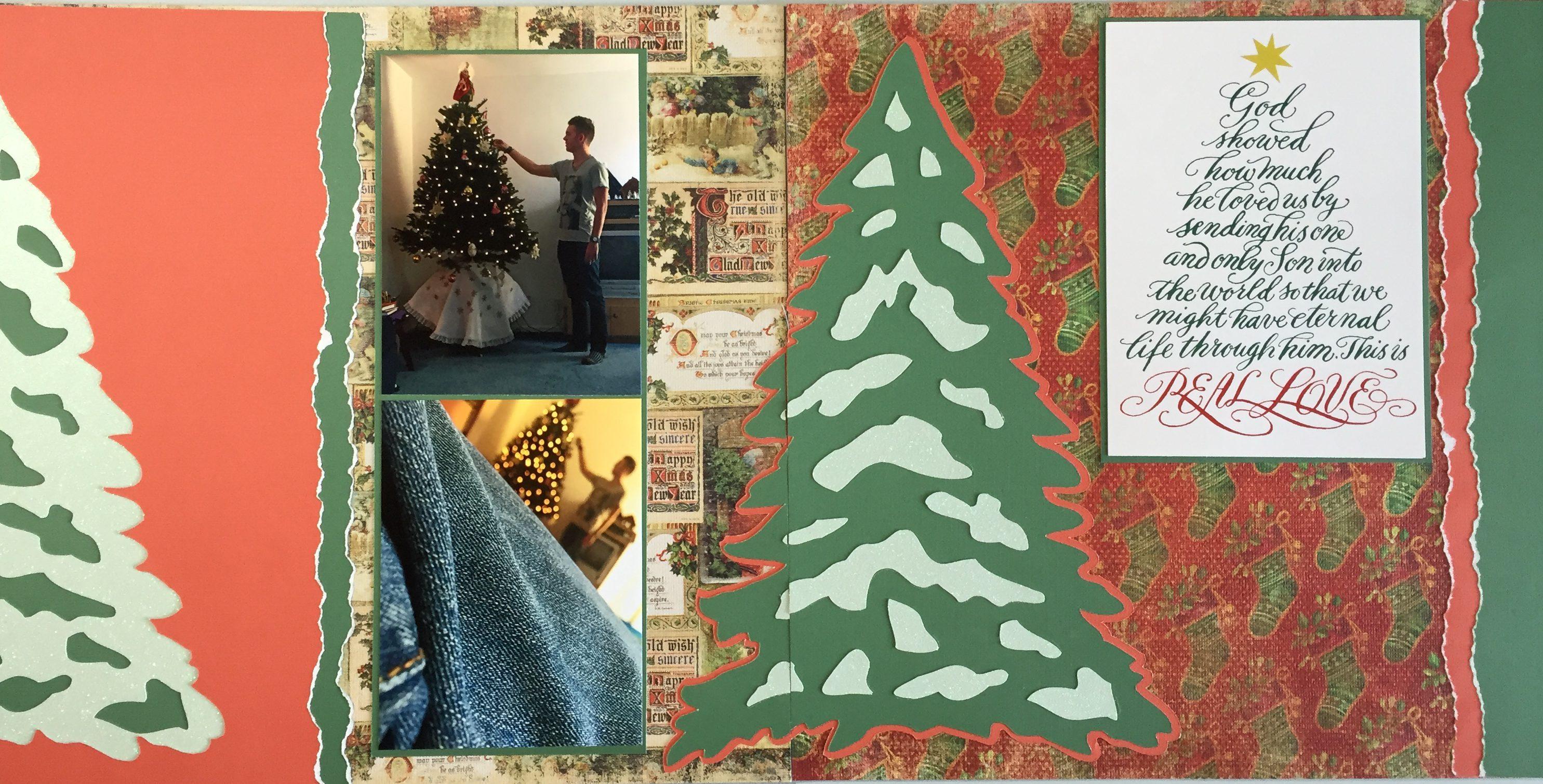 2015: Christmas Tree – MASCrapping