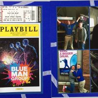 2016: Blue Man Group