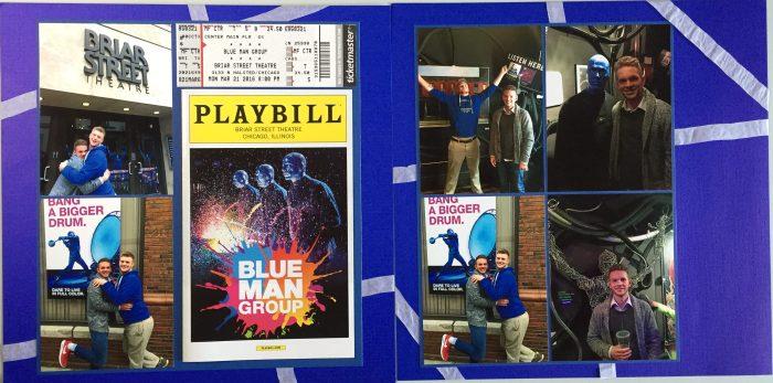 2016: Blue Man Group