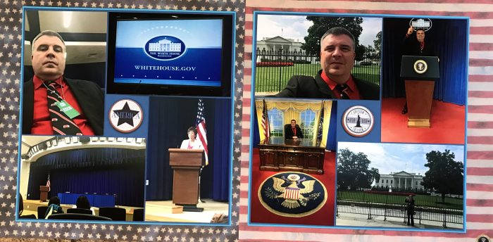 2015: Trip to the White House
