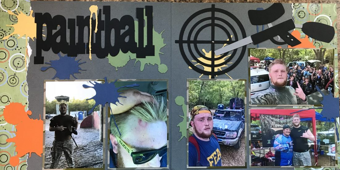 2017: Spring Break - Paintball