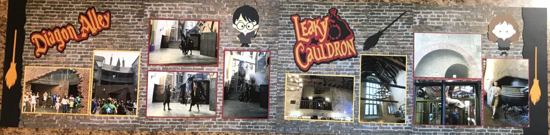 2017: Diagon Alley and Leaky Cauldron