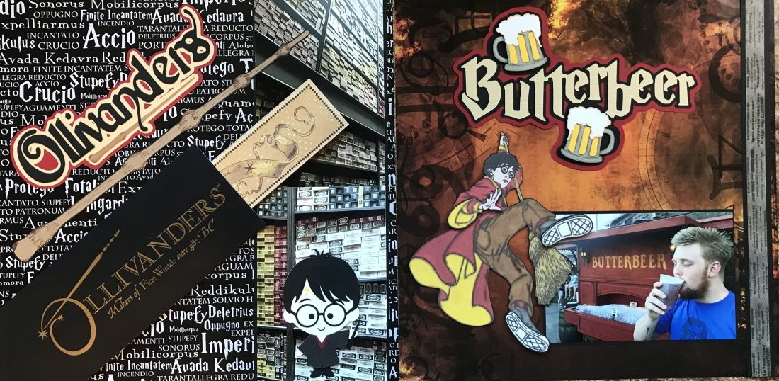 2017: Ollivanders and Butterbeer