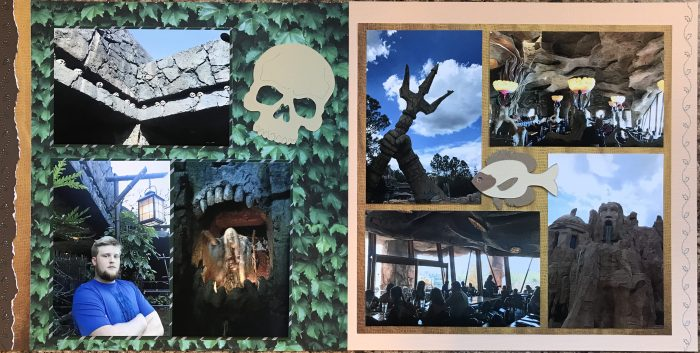 2017: Universal Studios - Skull Island and Mythos