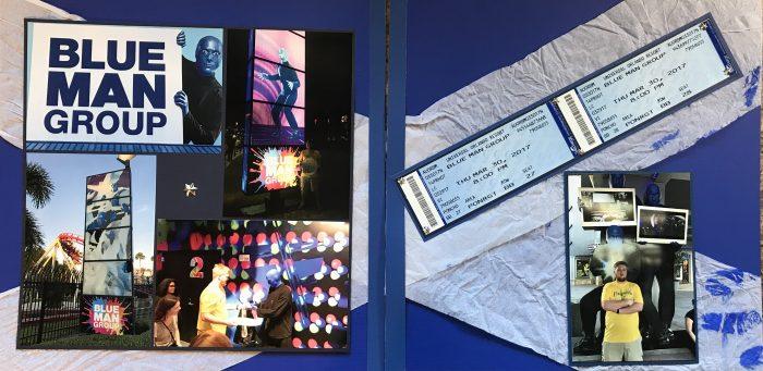 2017: Universal Studios - Blue Man Group
