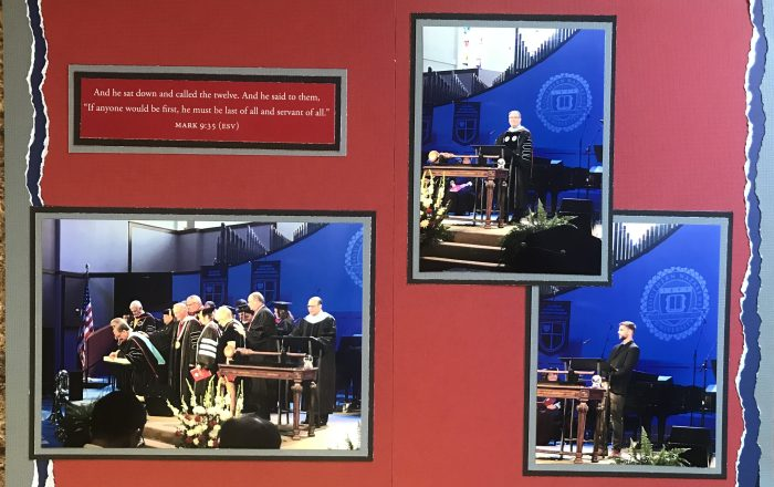 2017: Dr Keith Newman Inauguration 2