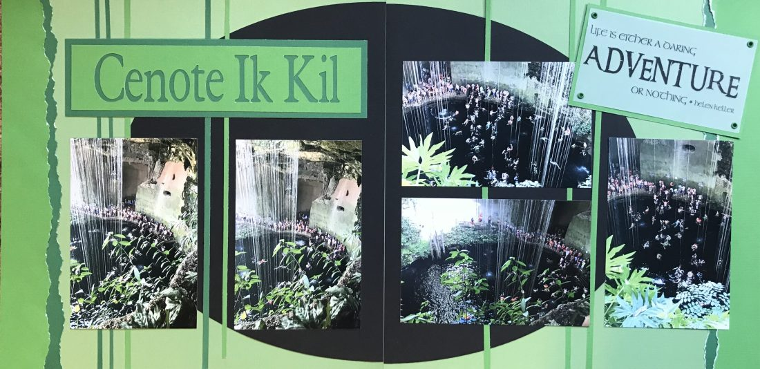 Cancun 2017: Cenote Ik Kil