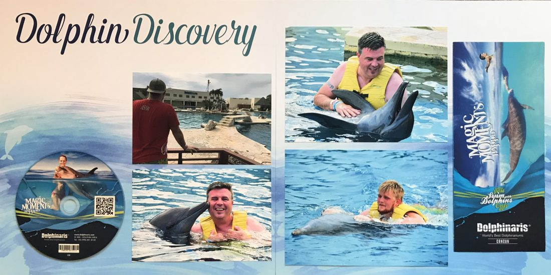 Cancun 2017: Swim with the Dolphins