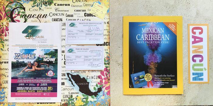 Cancun 2017: Ephemera