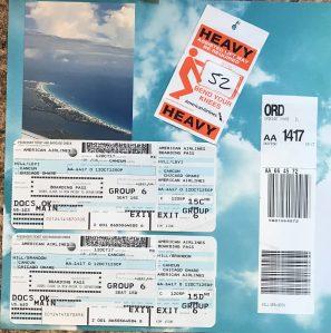 Cancun 2017: Flight Home