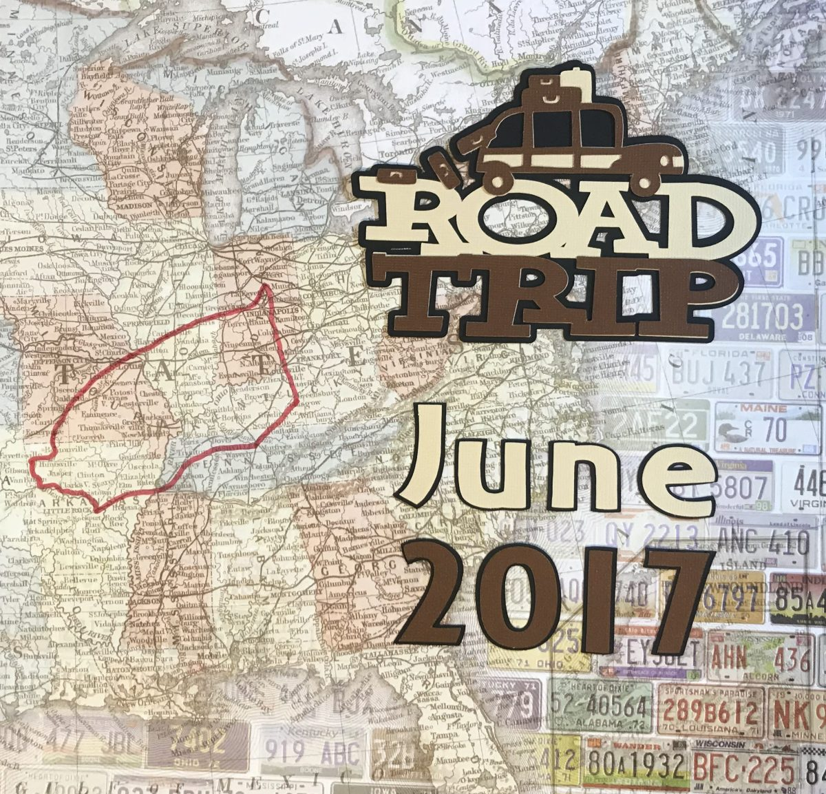 Summer Road Trip 2017: Title Page