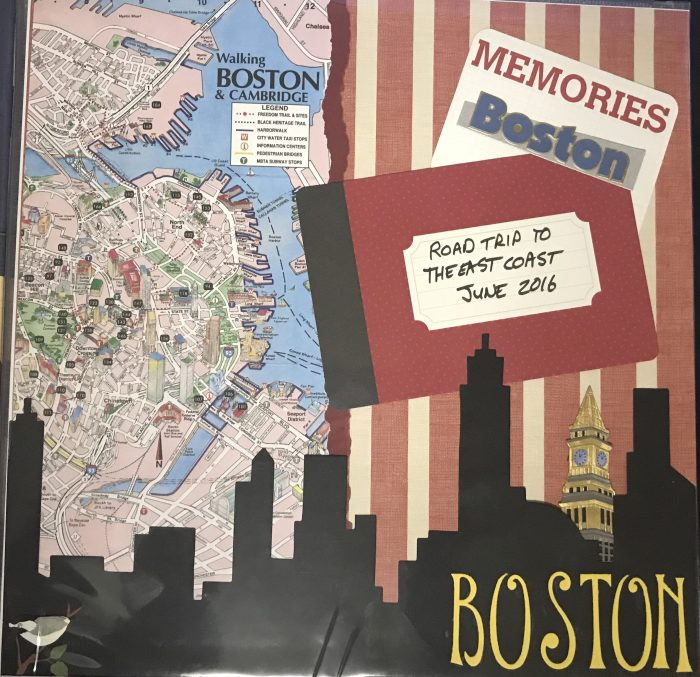 2016: Boston Trip Title Page
