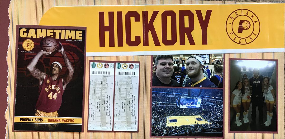 2016: Pacer's Game – Hickory Night | MASCrapping