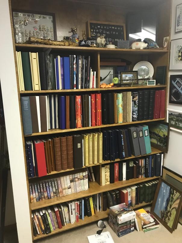 Scrapbook Storage Shelf