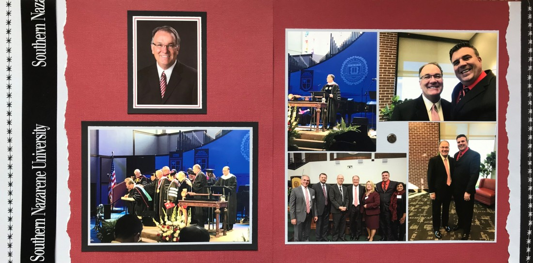 2017: Dr Keith Newman Inauguration – Southern Nazarene University - Personal Album 1