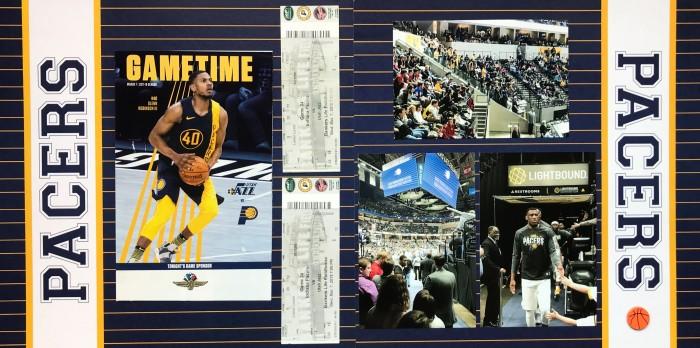 2018: Indiana Road Trip - Pacers vs Utah Jazz Game