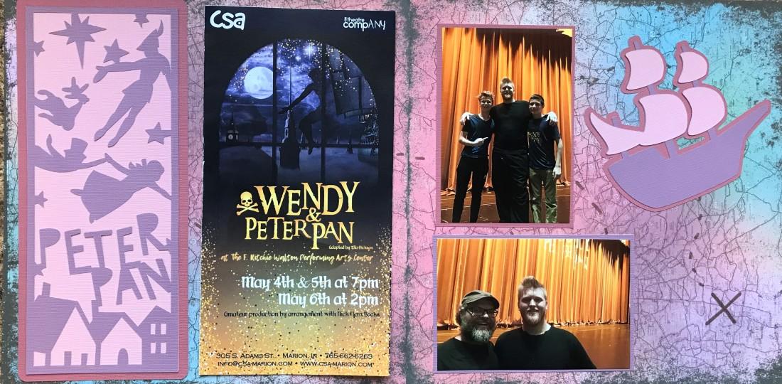 2018: CSA - Wendy and Peter Pan