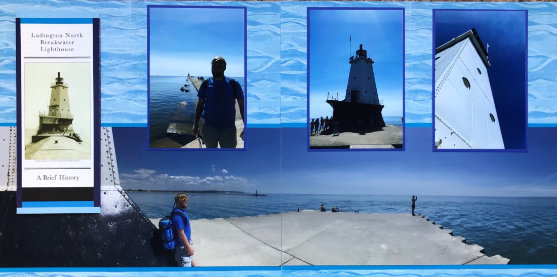 2018: Ludington North Breakwater Lighthouse, Michigan