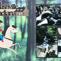 2018: Horseback riding in Nashville Indiana