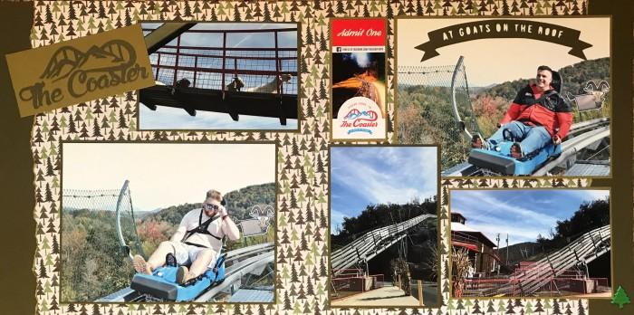 2018: Gatlinburg Vacation – Alpine Coaster