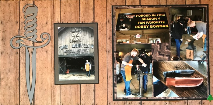 2018: Gatlinburg Vacation – Iron Mountain Metal Craft