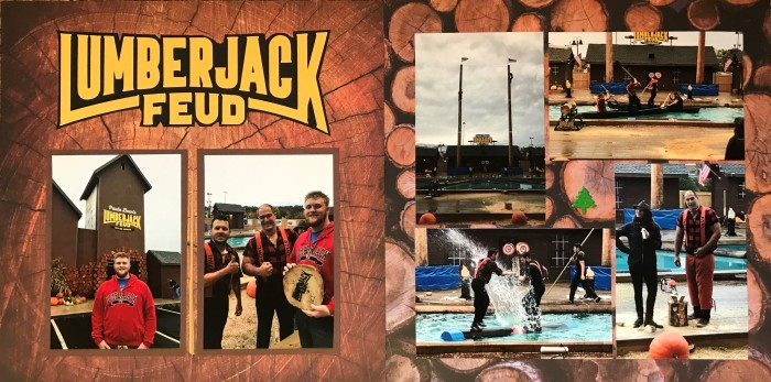 2018: Gatlinburg Vacation – Lumberjack Feud