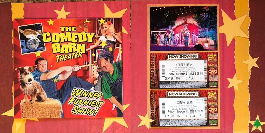 2018: Gatlinburg Vacation – The Comedy Barn Theater