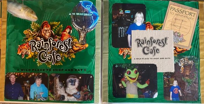 2010: Rainforest Cafe