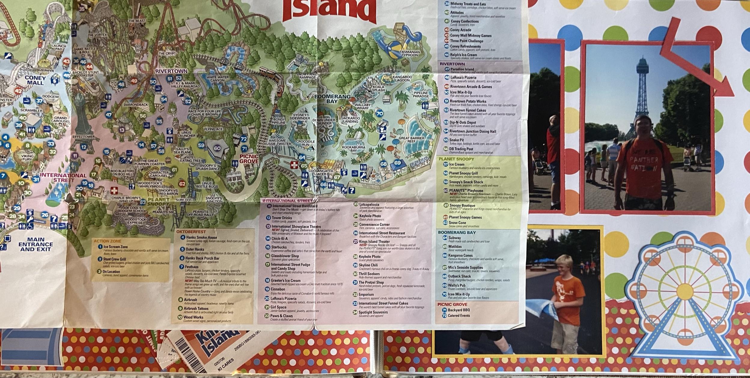 2010: Kings Island Open Map