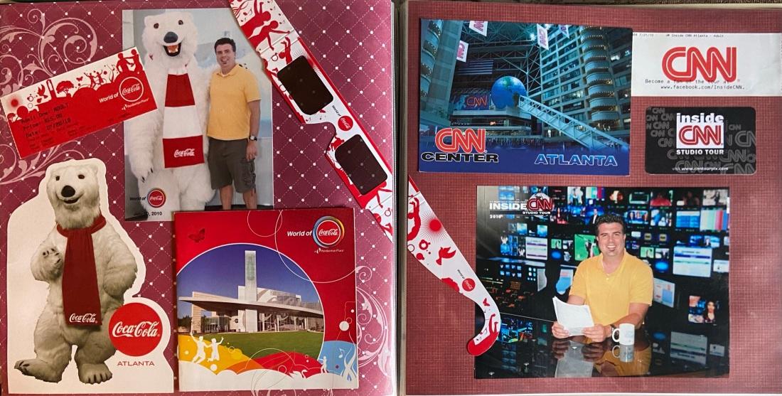2010: World of Coca-Cola and CNN Studio Tour