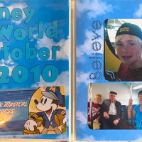 2010: Disney World  Title Page