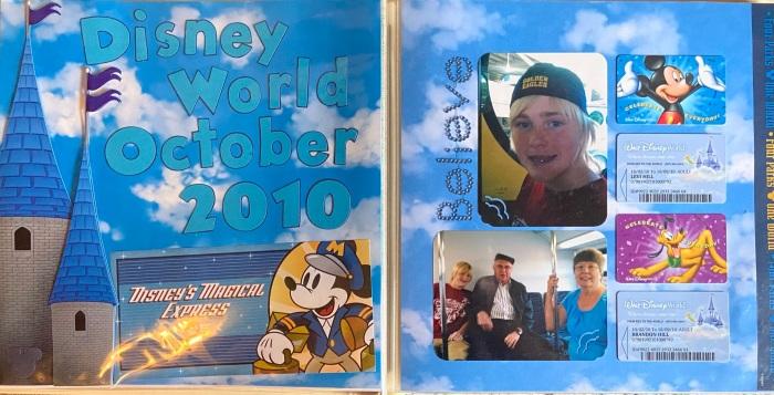 2010: Disney World Title Page